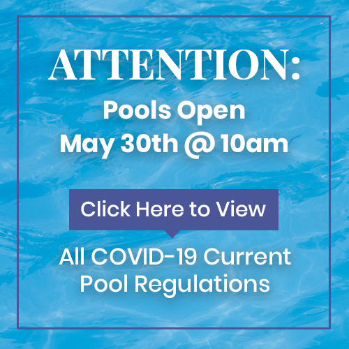 Attention Pools Open May 30th @10AM